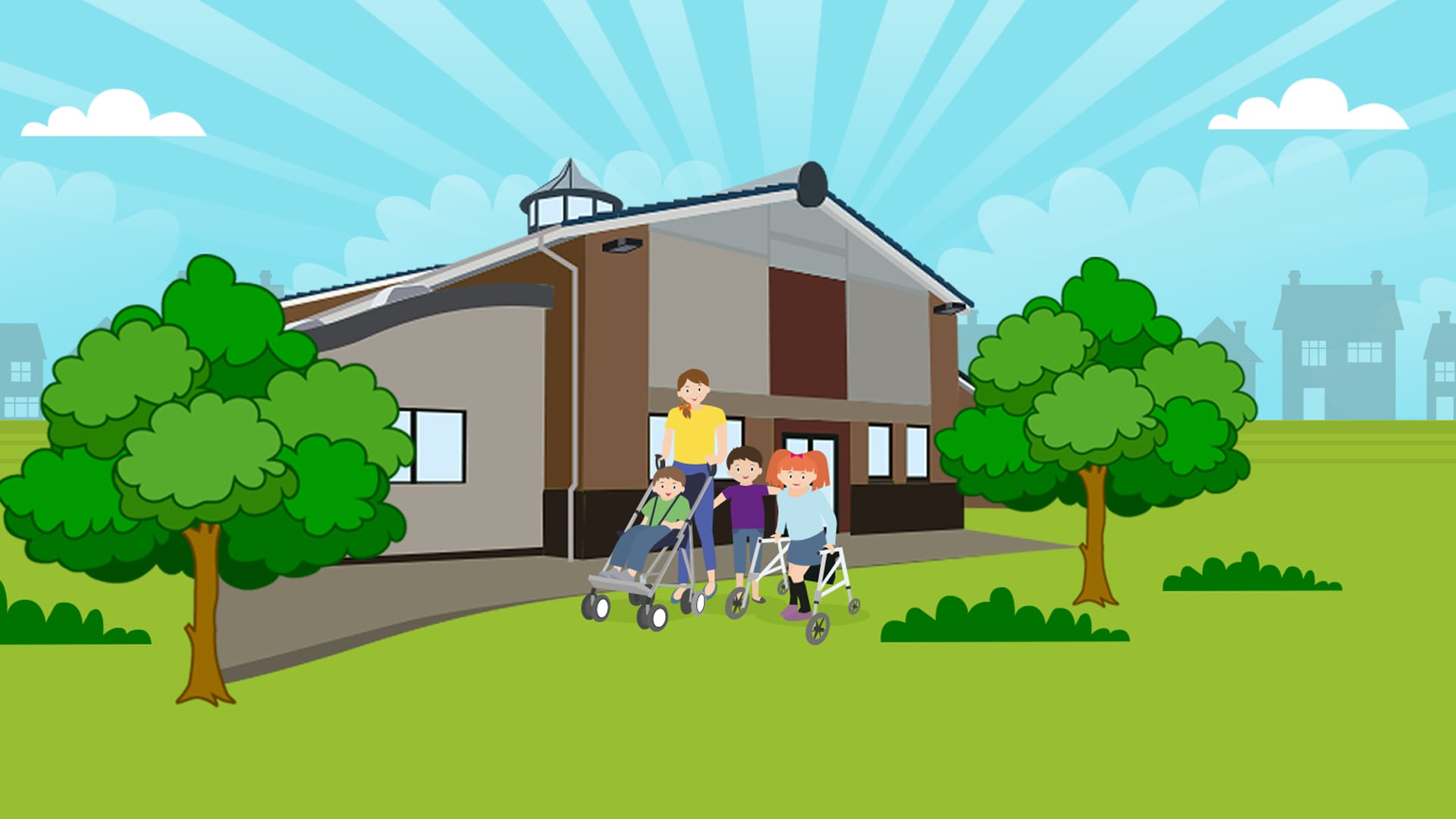 Website for Greenhall Nursery & Physical Disability Service