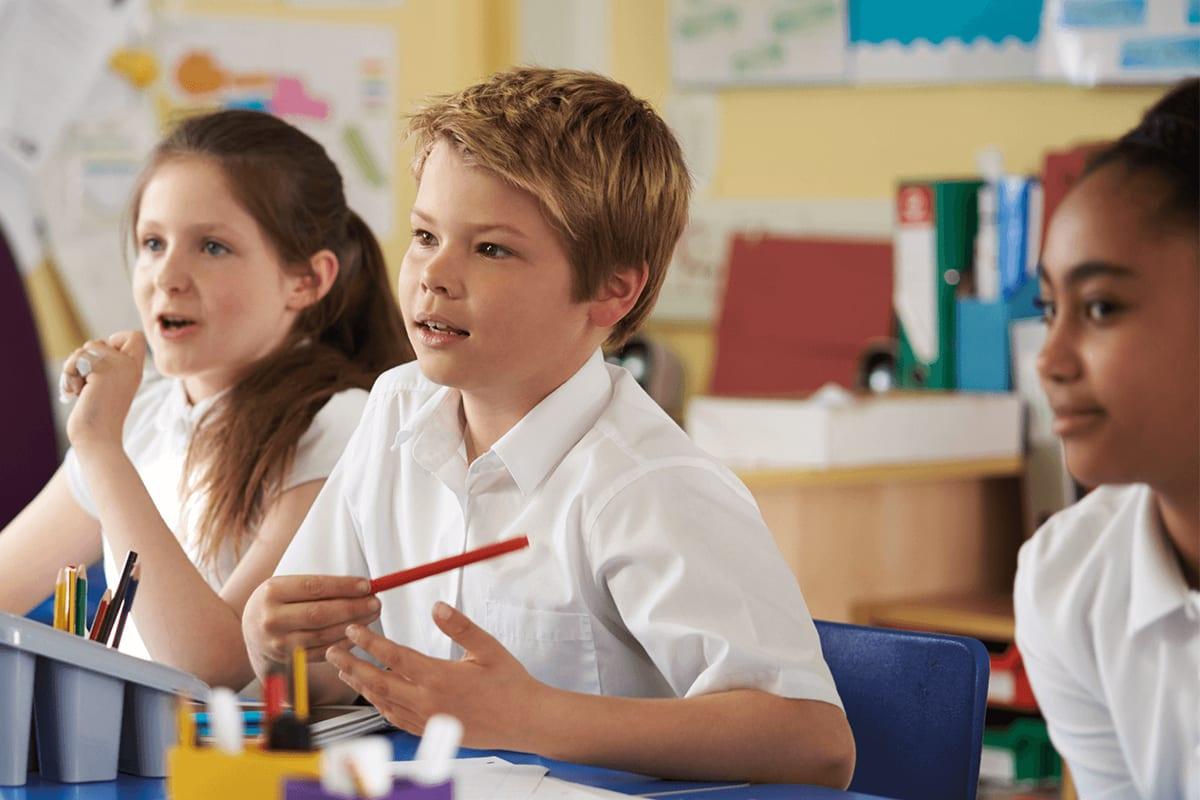 school website design for UK primary school