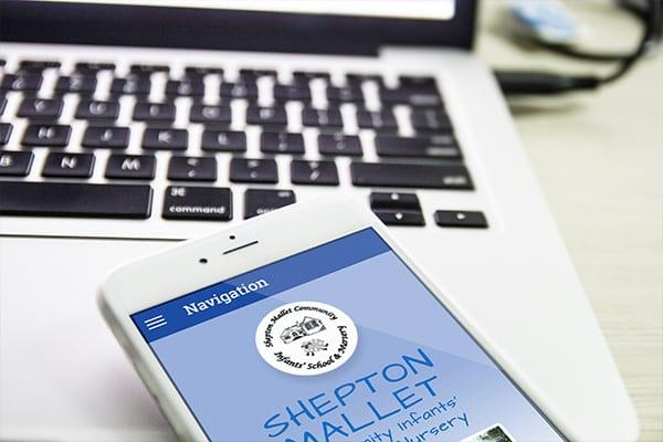 ipad design for Shepton Mallet school