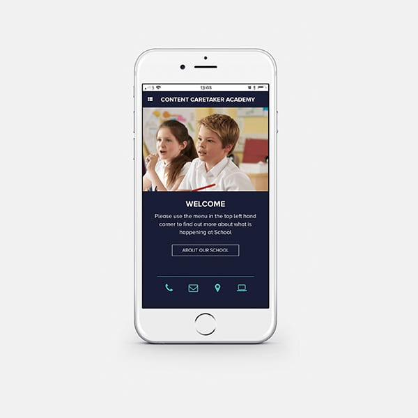 Progressive web app home screen