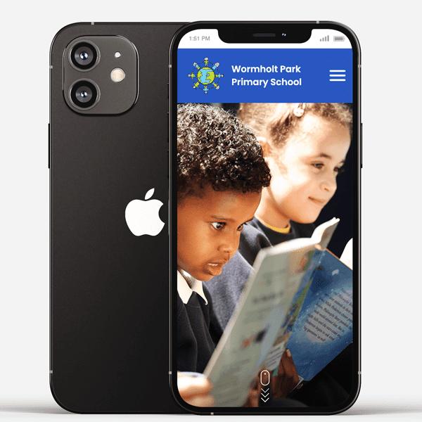 New school website for Wormholt Park Primary School